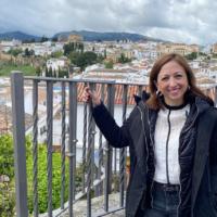 Patricia Navarro, delegada del Gobierno andaluz: «El objetivo es tener abierto el Centro Sociosanitario en esta legislatura»