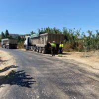 Finaliza la primera fase del Plan Municipal de Arreglo de Caminos con el asfaltado de un tramo en Los Frontones