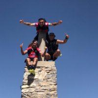 Nardi Crespo, Santi Ruíz y Álex Castaño, del Club Harman, suben los ocho picos más altos de Andalucía en solo cinco días