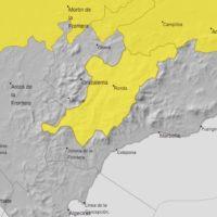 La Serranía permanecerá este sábado en situación de alerta amarilla por tormentas