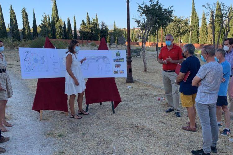 La Cruz de San Jorge contará con una nueva zona verde y un gran parque con una inversión de 600.000 euros