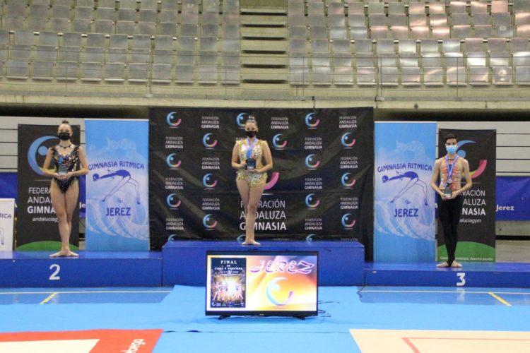 El Club de Gimnasia Rítmica Agra finaliza una gran temporada en el campeonato de Andalucía