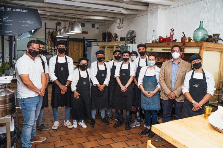 El curso de la Escuela de Cocina Inclusiva 'El Golimbreo' entra en su recta final