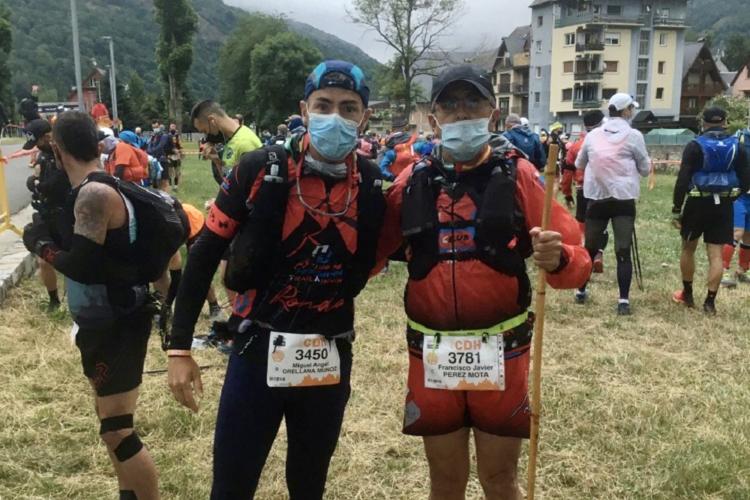 Dos corredores del Harman disputaron la épica Camins d'Hèr-CDH en el Valle de Arán