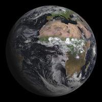 La Tierra desde SEVIRI de MSG-3.