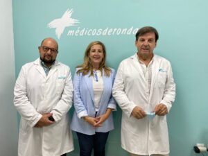 Cuadro directivo de Médicos de Ronda.