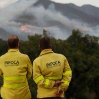 El Infoca logra controlar el incendio de Sierra Bermeja y los vecinos desplazados ya pueden regresar a sus pueblos