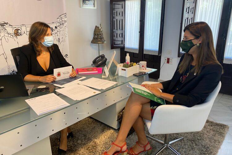 La Junta destina más de 217.000 euros a mejorar espacios urbanos de Ronda y sus pedanías