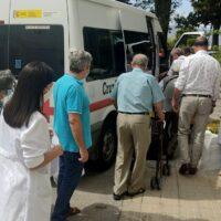 Finaliza el retorno a sus hogares de las personas mayores que fueron desalojados por el incendio