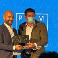 Sergio Valadez recibe el Premio Málaga de Arquitectura por su proyecto de recuperación del Camino de Albacar