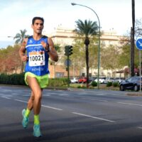 El deportista rondeño Gerardo Pérez Clotet logra el segundo puesto en la 10K Carrera Popular de Sevilla