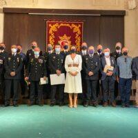 La Policía Local de Ronda celebra los actos en honor a su patrona, la Virgen de la Paz