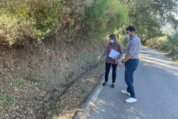 La Diputación de Málaga financia la mejora del Camino de la Ermita de Jubrique